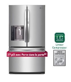 Réfrigérateur | LG 27 pi3