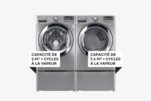 Laveuse / Sécheuse | LG