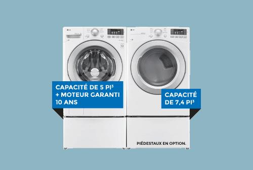 Laveuse / Sécheuse   LG