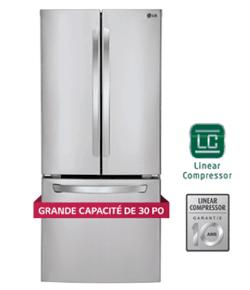 Réfrigérateur | LG 21,8 pi3