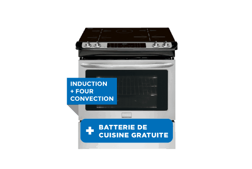 Cuisinière à induction | FRIGIDAIRE GALLERY induction