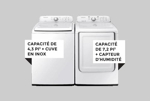 Laveuse / Sécheuse | SAMSUNG