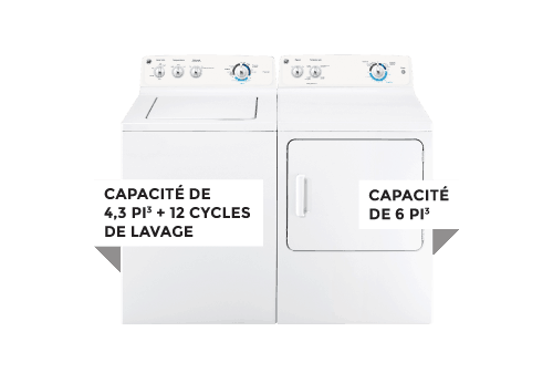 Laveuse / Sécheuse | GE