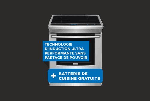 Cuisinière à induction   ÉLECTROLUX
