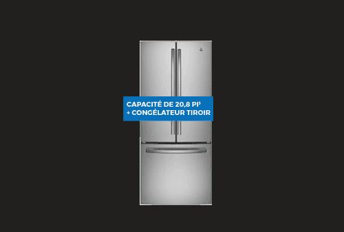 Réfrigérateur | GE 20,8 pi3