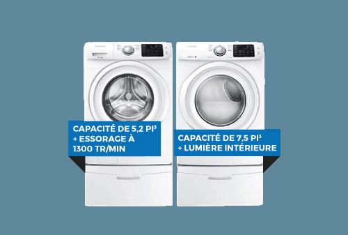 Laveuse / Sécheuse| SAMSUNG
