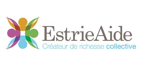Logo Estrie Aide