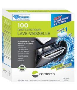 100 pastilles pour lave-vaisselle