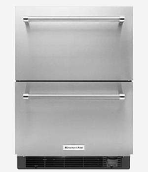 r frig rateur tiroir kitchenaid les sp cialistes de l. Black Bedroom Furniture Sets. Home Design Ideas