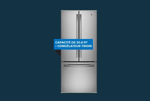Réfrigérateur   GE 20,8 pi3