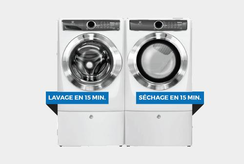 Laveuse / Sécheuse | ÉLECTROLUX