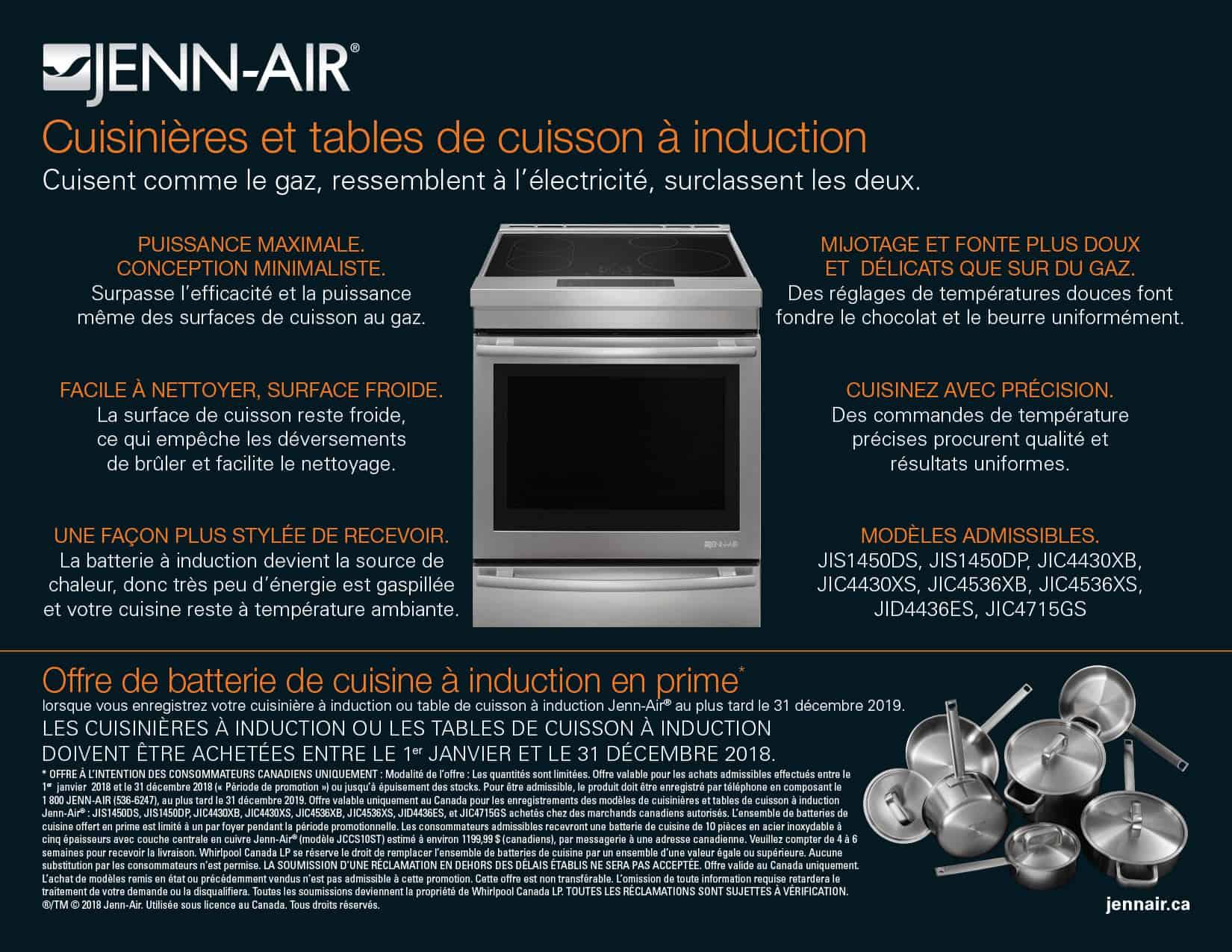 Batterie De Cuisine Jenn Air Les Specialistes De L